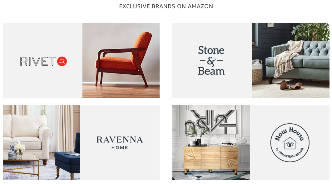 Amazon Home Category Uses Private Label Celebrities Macarta